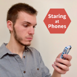 staring at phones blog profile picture logo
