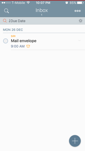 "My ""Inbox"" smart list"
