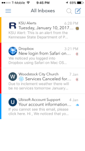Airmail's Inbox